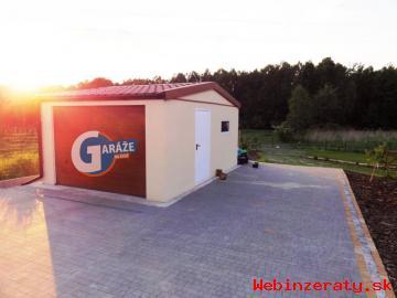 Oceľová moderná Garáž