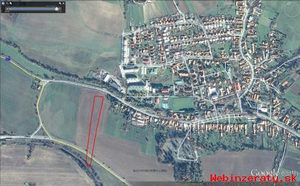 Predám stavebný pozemok v Pliešovciach