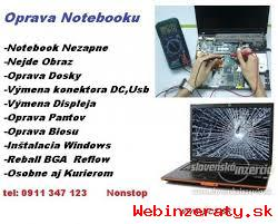 Servis Notebookov-Oprava Notebooku