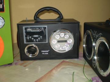 Prenosné Repro MP3 SD MMC USB