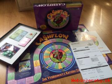 Predám novú stolovú hru Cashflow -