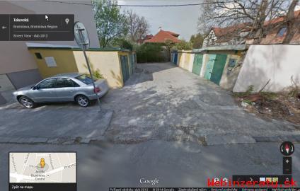 Prenajmem murovanú garáž, Bratislava.