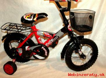 "Bicykel detský 12"" CARS ako BMX za SUPER"