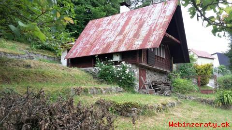 Zrubová chata Sokoľ - čast Uhrinč, vodov