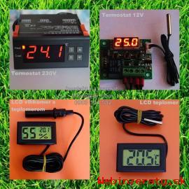 Digitalny termostat, LCD vlhkomer