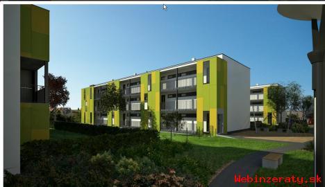 Novostavba 1 izb.  byt - Zlaté Moravce