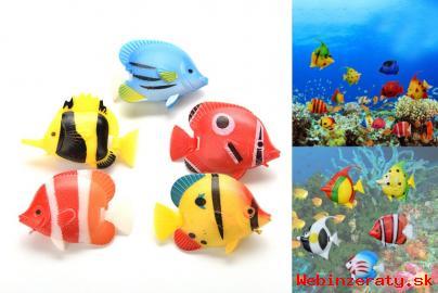 Umelé rybky ako živé