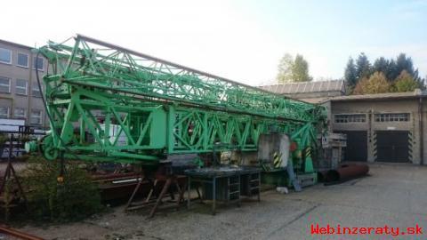 Vežový žeriav Liebherr 35K -stacionárny