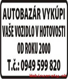 Výkup aut v hotovosti