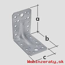 spojovaci material UHOLNIK 90x90x65x2,5