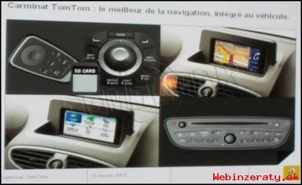 Renault mapy - CD, DVD, SD karta 2014