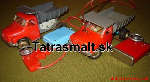 Kúpim staré detské hračky Tatrasmalt