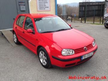 VW GOLF IV 1. 4i16V