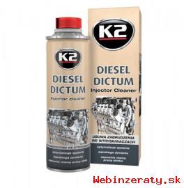 K2 - DIESEL DICTUM čistič injektorov vst