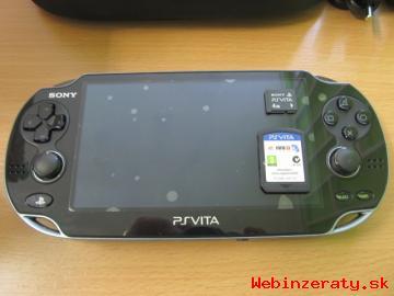 Predám konzolu Sony Playstation Vita 3G