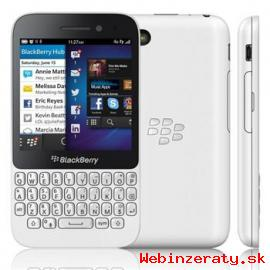 Predám nový BlackBerry Q10 QWERTZ White