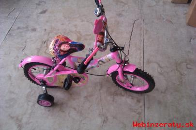"""Bicykel detský 12 Hannah Montana"""" nový"""