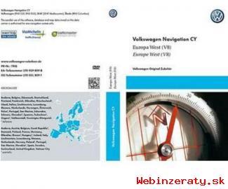 GPS mapy - VW, Škoda, Seat