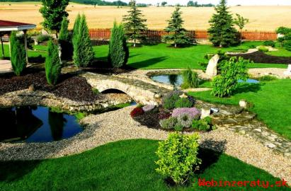 Komplexná údržba záhrad