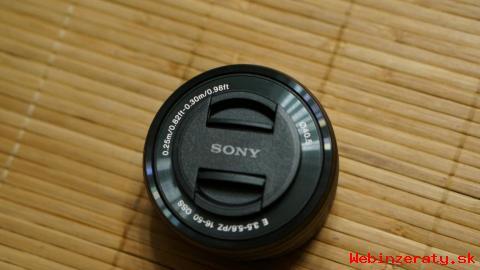 Objektiv Sony Nex