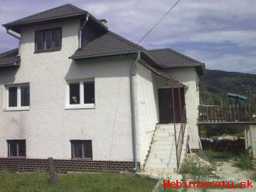Rodinný dom v Hnúšti