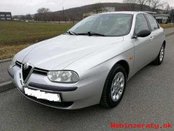 Predam Alfa Romeo 156 1. 9JTD r. 2002 v