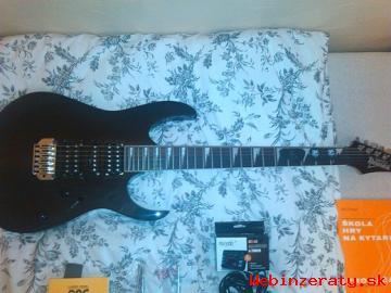 Predam elektricku gitaru Ibanez