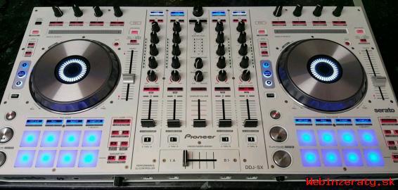 Pioneer DDJ-SX Controller stálo 430 Euro