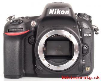 Nikon D600 telo