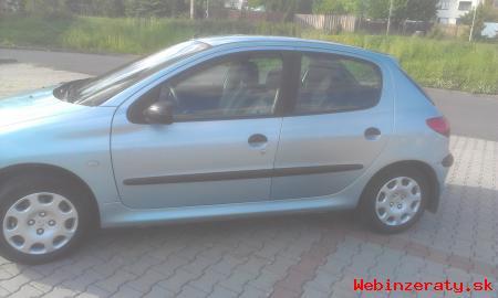 Predám Peugeot 206