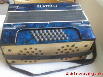 Predám Akordeón Glatelli
