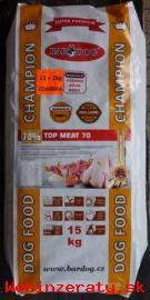 Mäsové granuly Bardog 15 + 2 kg Zdarma z