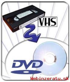 Kopírovanie domáceho videa z VHS na DVD