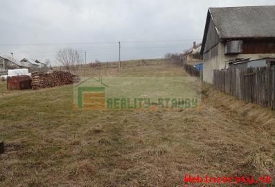 Pozemok Liesok na stavbu rodinného domu