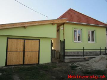 Kompletne zrekonštruovaný domček v Halič