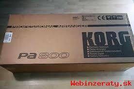 NA PRODEJ: KORG PA900, Pa800, PA600, Pa5