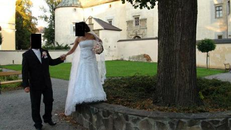 Romantick� svadobn� �aty