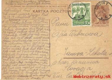 Korešp. lístky z augusta 1939