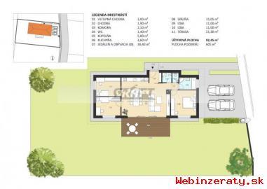 RK-GRAFT ponúka NOVOSTAVBU 4-izb.  RD Mi