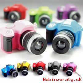 Minifotáčik - kľúčenka, hračka