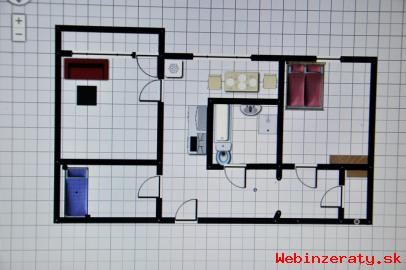2 izbový byt, západná ulica v TN