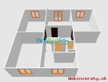 4-izbový byt v obci Štôla