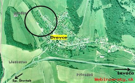 Stavebný pozemok v Dravciach