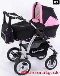 Predám kočík Baby Smile V-MAX kombinácia