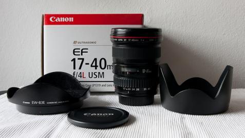 Predam objektiv Canon EF 17-40mm f/4 L U
