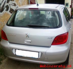 Peugeot 307,najazdené 21 tis.  km