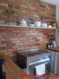 Tehlovy obklad-rezana stara tehla