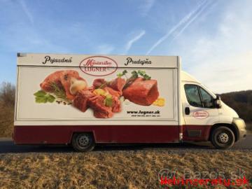 Pojazdna predajna mäsa