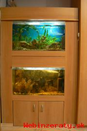 Predám akvária- zostava