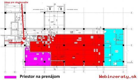 Kancelárske priestory na prenájom - Tren